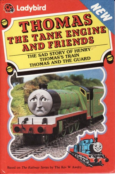 the tank book the the sad story of henry ladybird book thomas the tank engine friends first edition hardback 1988