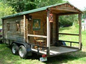 small log cabin on wheels quotes