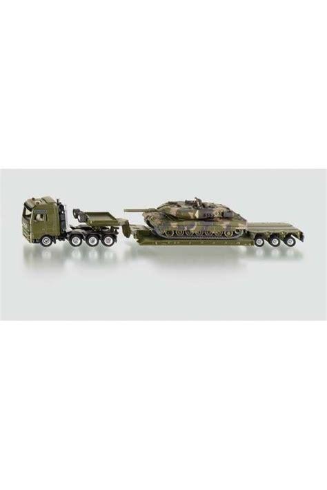 Siku Low Loader With Tank siku dieplader met tank 1872 vrachtwagen hesemans