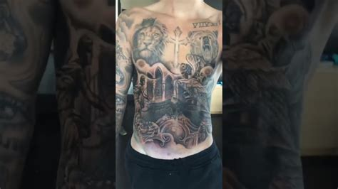 justin bieber shows off tattoos justin bieber showing his new tattoos on instagram