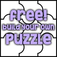 blank puzzle  write  draw  images puzzle