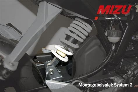 Honda Hornet 600 Pc41 Tieferlegung by Mizu Motorrrad Und Marine Produkte Mizu Heckh 246 Herlegung