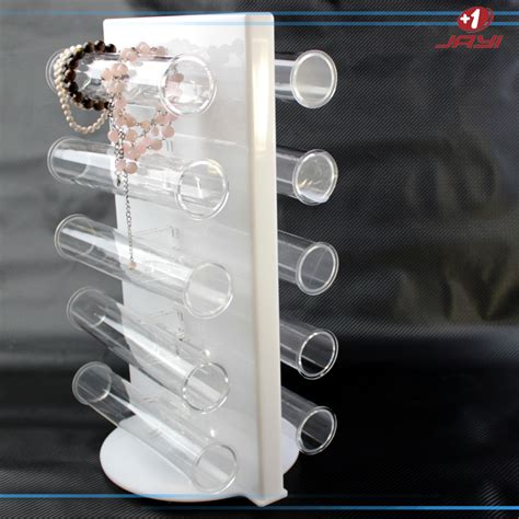 Countertop Jewelry Display by China Factory Acrylic Countertop Rotating Jewelry Display