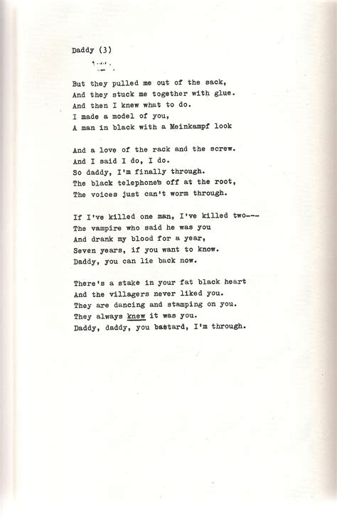 Plath Poem by Plath S Poem Sexton And Poem Quotes