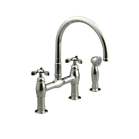 brass kitchen faucets kohler polished brass kitchen faucet