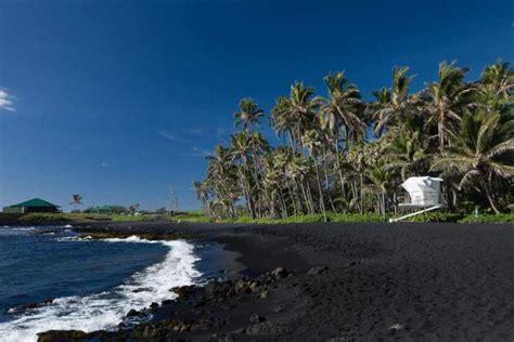 punaluu county beach park big island hawaii black sand 10 most beautiful beaches in hawaii