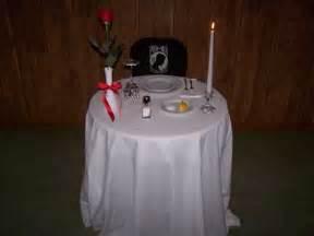 pow table ceremony