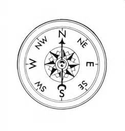 clock compass coloring pages