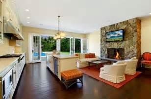 Living Room Kitchen Combo Ideas Kitchen Room Beautiful White Modern Living Room Kitchen