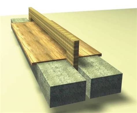 wood and concrete bench scatter brain design furniture concrete steel stefan