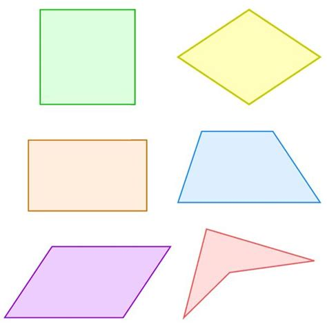 Examples Of Resume Names by Best Photos Of What Are Quadrilaterals Shapes