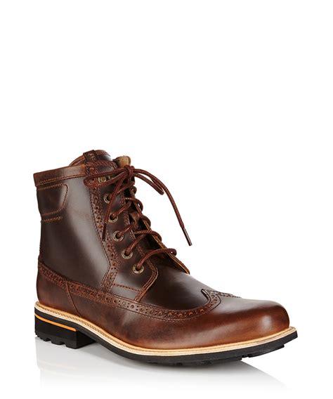 brogue boots sale rockport plain brown brogue boots designer