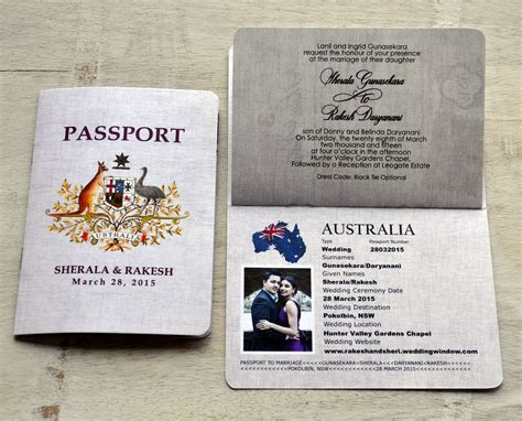 Hochzeitseinladung Reisepass by Passport Wedding Invitations Bali Inspired Passport