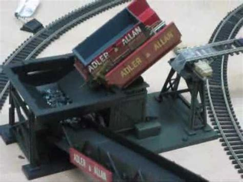 scow end tipper hornby tipper and conveyor youtube