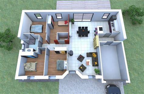 una casa de 100 8416427054 planos de casas de 100 metros cuadrados en 3d