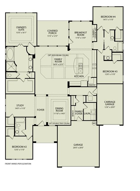 drees home plans northgate 372 drees homes interactive floor plans