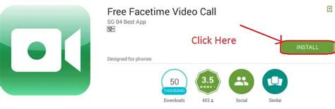 free facetime app for android facetime