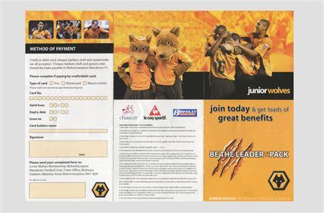 advertising phlet template leaflet exles