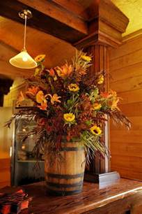 55 cool fall flower centerpiece and flower table d 233 cor