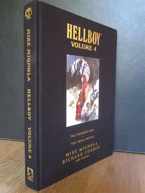 libro hellboy library edition volume my absolute collection hellboy library edition volume 4