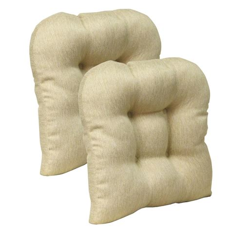 non tufted chair cushions gripper non slip 15 quot x 15 quot stoked tufted universal