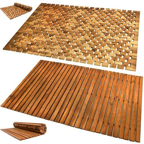 Ikea Badematte Bambus by Wooden Bath Mat Duckboard Shower Mats Non Slip Hardwood