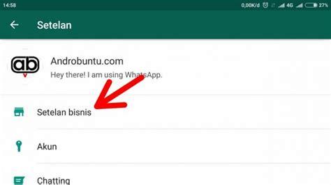 buat ktp whatsapp cara mengatur profil bisnis di whatsapp business
