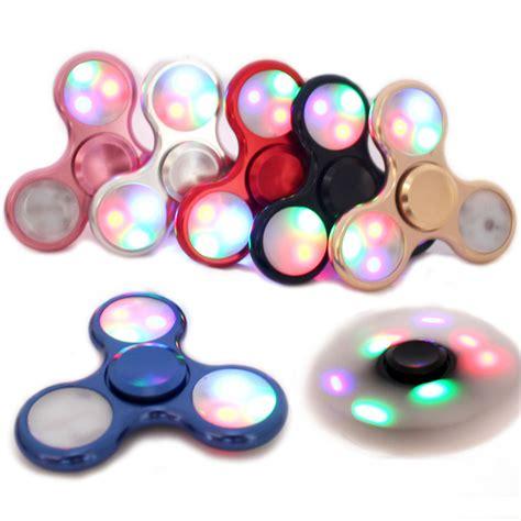 Mu Spinner Led Rainbow led light fidget spinner finger end 11 18 2019 1 51 am