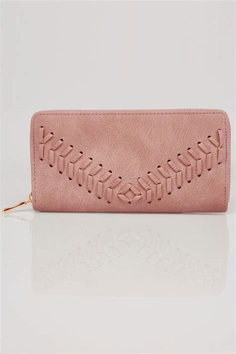 Can You Return Items Bought With A Gift Card - pink zip around purse with herringbone stitch detail
