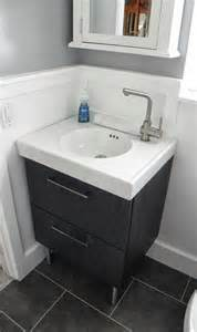 ikea bathroom sinks before after renato s renovated bathroom hooked on houses