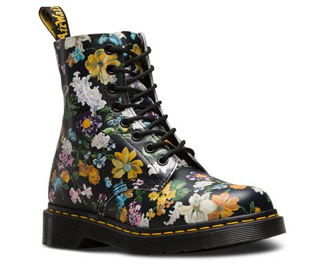 dr martens fiori 1460 pascal darcy floral womens official dr martens