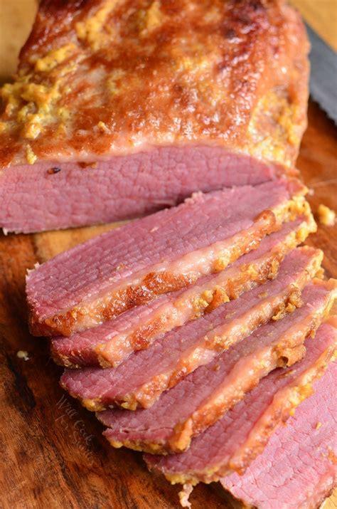 easy corned beef brisket recipe 3 ingredient oven baked corned beef brisket will cook