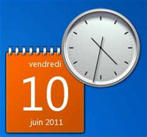 horloge de bureau pc horloge sur pc bureau gratuit 28 images horloge pc