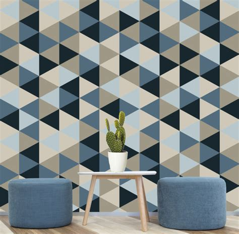 removable wallpaper navy blue geometric removable wallpaper blue navy creams self
