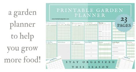 free printable vegetable garden planner garden planning 60 tips to grow your best garden
