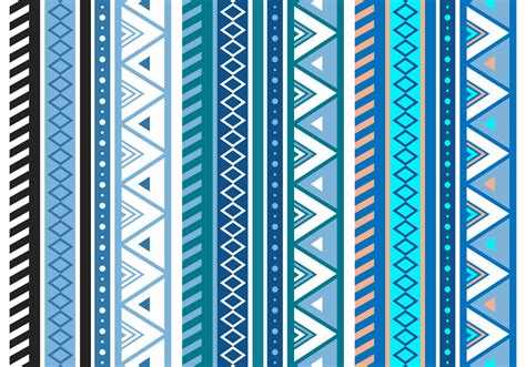 patterns free free blue aztec geometric seamless vector pattern