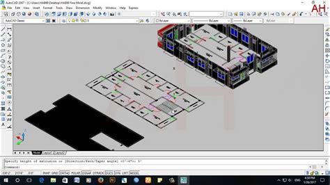 best autocad tutorial youtube how to create window roof watertank floor etc in