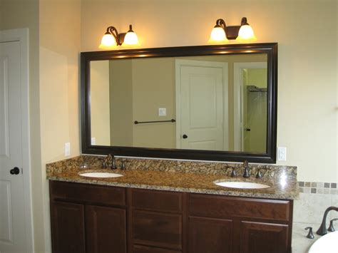 Bathroom Vanity Mirror And Light Ideas by Bathroom Light Fitures Brushed Nickel Home Design Ideas
