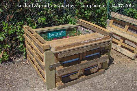composteur de jardin composteur pour le jardin de quartier les jardins de dzprod
