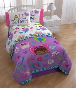 Mcstuffins twin bedding set 4pc animal friends comforter sheets twin