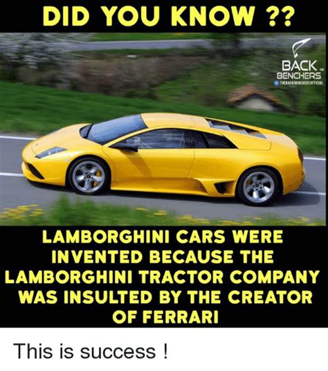 Who Invented Lamborghini Cars Tractor Memes Of 2017 On Sizzle Dank
