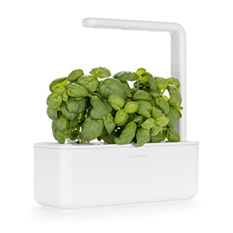 smart herb garden click and grow fuss free urban gardening click grow smart garden 3 indoor gardening kit includes