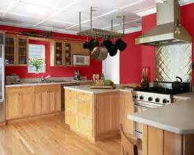 Paint Colors For Kitchen by Making Your Home Sing Red Paint Colors For A Kitchen