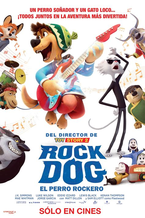 rock dog 2016 posters the movie database tmdb