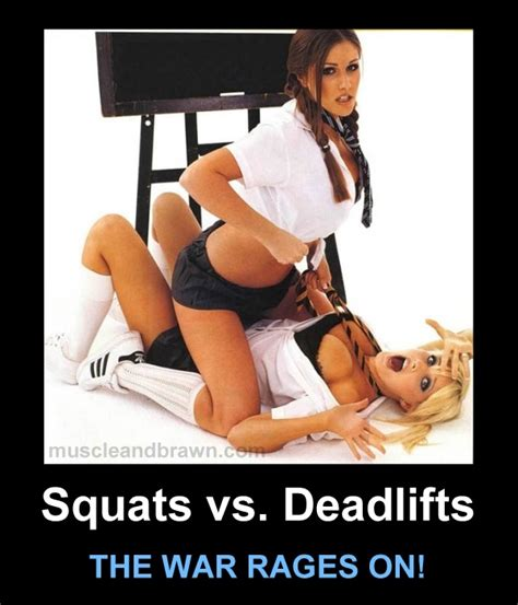 Hot Girl Meme Images - squats vs deadlifts the war rages on gym memes
