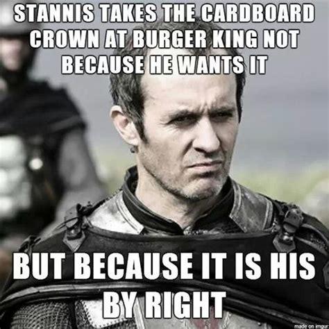 Stannis Baratheon Memes - game show funny quotes quotesgram