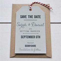 save the dates tag wedding save the date by says i do notonthehighstreet