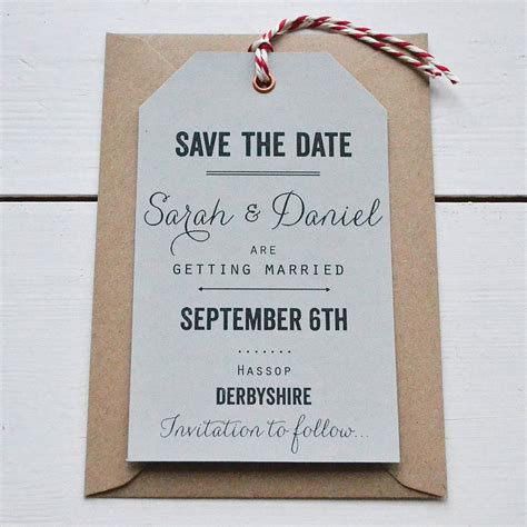free wedding save the date sles tag wedding save the date by says i do notonthehighstreet