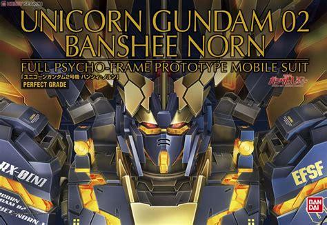 Pg Banshee By Parkz Toys Hobbies bandai gundam model pg genuine 1 60 unicorn unit 2 banshee