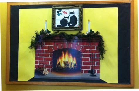 Fireplace Bulletin Boards by Fireplace December 2012 Bulletin Board Teaching